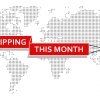 Free shipping on all orders this month!